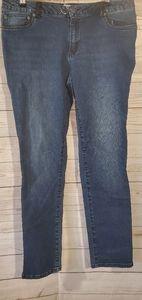 Kenneth Cole Dark Wash Skinny Jeans